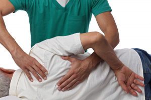 Chiropractic work on a patient with auto accident injury Pensacola