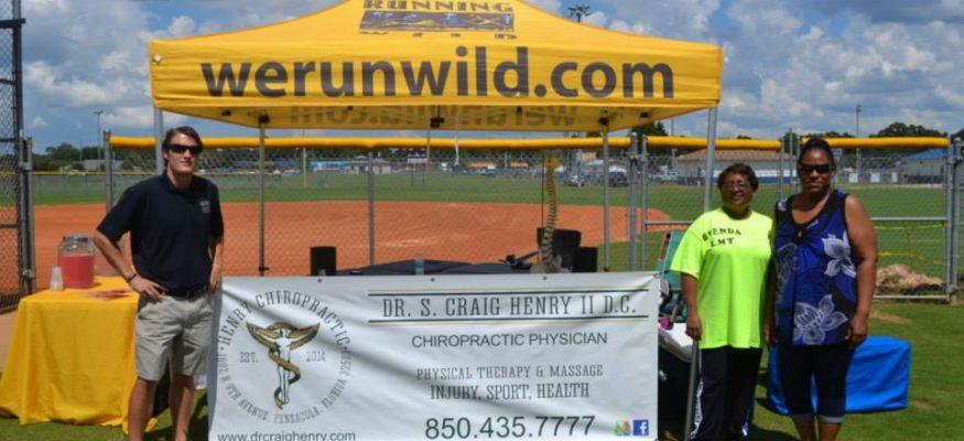 Chiropractor Pensacola Run Wild Event